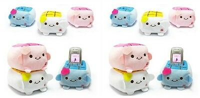 Lot New 120 pcs Cute Tofu Mobile Phones Rub Mp3/Mp4 Holder case
