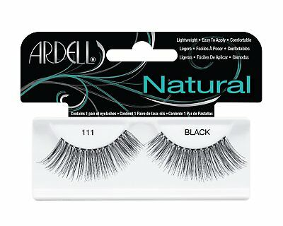 ARDELL 100% HUMAN HAIR FALSE EYELASHES LASHES Fashion 111 extra length