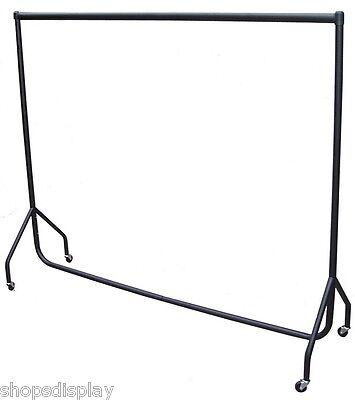 6ft Long x 7ft High HEAVY DUTY Clothes Garment DRESS DISPLAY SUPER STRONG RAIL