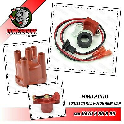 Ford Pinto Electronic Ignition with Distributor Cap & Rotor