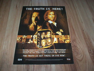 X Files final season-2004 magazine advert