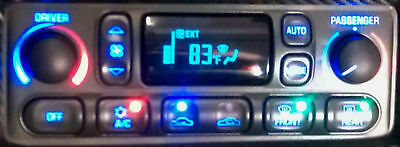 C5 Corvette A/c Hvac Climate Control Lcd Display Repair