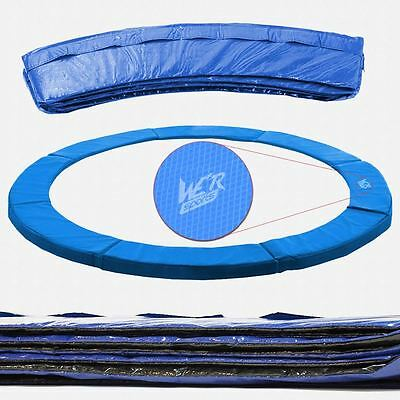 8FT Replacement Trampoline Safety Spring Cover Padding Pads PVC Mat