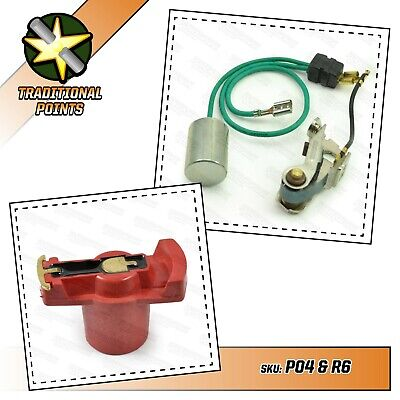VW T2 Camper Points And Condenser Set Powerspark With Rotor Arm