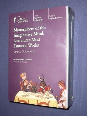 Teaching Co Great Courses CDs   MASTERPIECES of the IMAGINATIVE MIND  new sealed