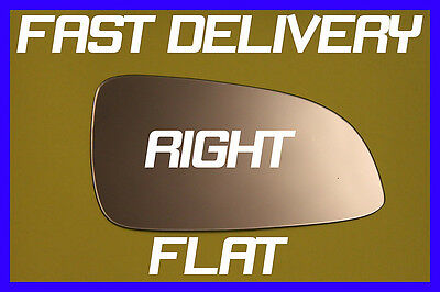 Vauxhall Astra H Twinport Hatchback 04-08 Door Wing Mirror Glass Flat Right