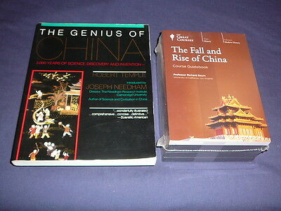 Teaching Co Great Courses CDs       THE FALL and RISE of CHINA       new + BONUS