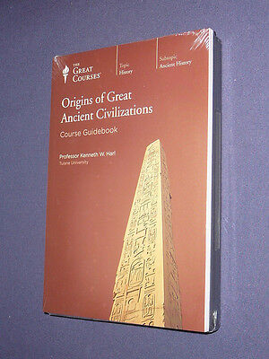 Teaching Co Great Courses CDs       ORIGINS of GREAT ANCIENT CIVILIZATIONS   new