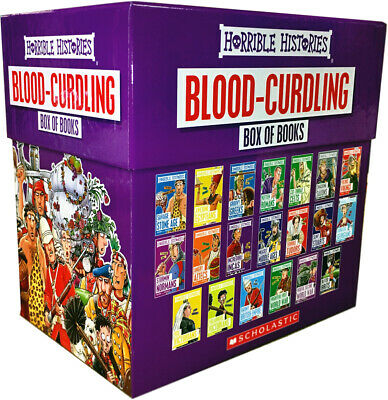 Horrible Histories Children Collection 20 Books Set Terry Deary Martin Brown