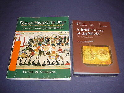Teaching Co Great Courses DVDs         BRIEF HISTORY OF THE WORLD    new + BONUS