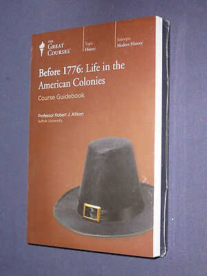 Teaching Co Great Courses DVDs           BEFORE 1776      latest release + BONUS