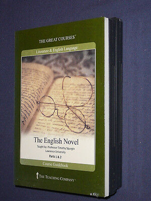 Teaching Co Great Courses DVDs            THE  ENGLISH  NOVEL       new & sealed