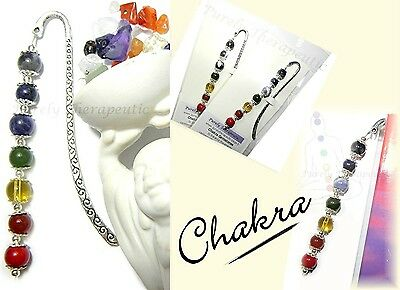 ~CHAKRA Bookmark~Gemstones for Balance~Healing~Reiki~Purely Therapeutic Design