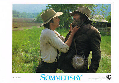 Sommersby Richard Gere 11X14 Lobby Card