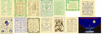 New Age / Pagan / Wiccan  Posters ~Parchment suitable for framing ~~