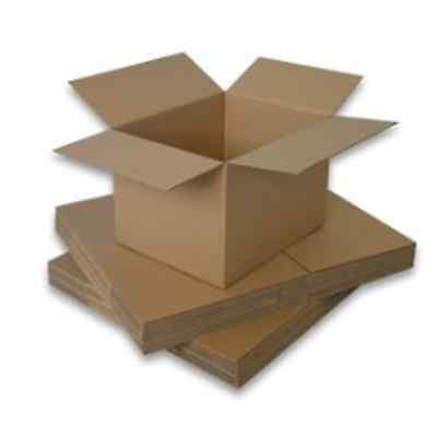 25 4x4x8 Cardboard Shipping Box Container Corrugated Card Board Storage