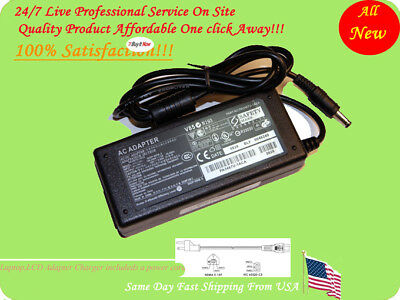 "19V AC Adapter For NEC MultiSync LCD 1935NXM 19"" LCD Monitor Power Supply Cord"
