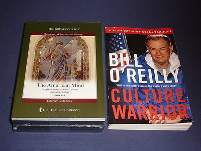 Teaching Co Great Courses  DVDs          THE  AMERICAN  MIND       new + BONUS