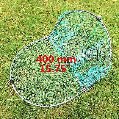 "Heavy Duty 400mm ( 15.75"" ) Sparrow Starling Bird Net Humane Live Trap Hunting"
