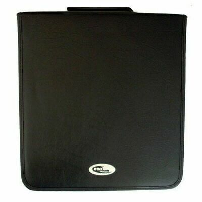 Neo Media 1 X 240 Capacity CD DVD Ring Binder Wallet Nylon Storage Carry Case