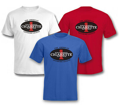 CIGARETTE RACING TEAM - POWERBOATS, YACHT, SPEED BOATS, SPORT/GYM Mens T SHIRT