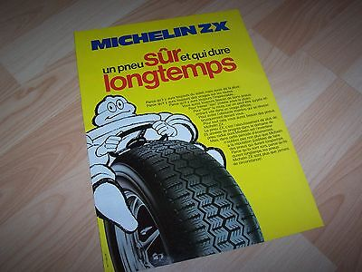 MICHELIN ZX Publicité magazine / Original French Advertising //