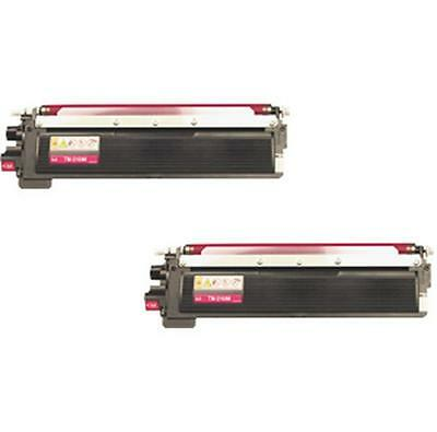 2PK MAGENTA TONER CARTRIDGE BROTHER TN-210M HL-3040CN HL-3070CW MFC-9120CN 9010C