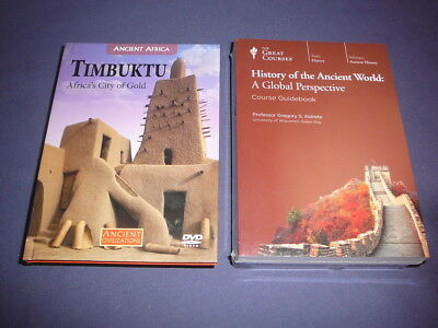 Teaching Co Great Courses DVDs :      HISTORY of the ANCIENT WORLD   new + BONUS