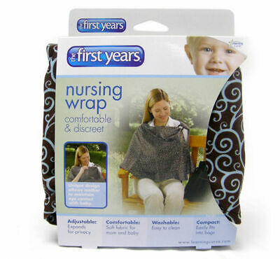 The First Years Y4381 wide neck Nursing Privacy Wrap for  breastfeeding cover