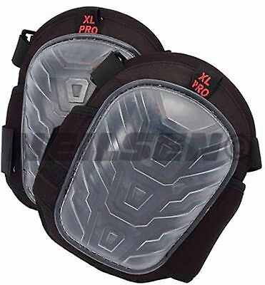 Heavy Duty Protective Gel Zone Knee Pads with 2 strap fastening