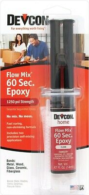 New Devcon 21445 Flow Mix 1 Minute High Strength Epoxy Waterproof Adhesive