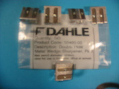 10 Brand New Dahle Twin / Double Hole Metal Sharpeners