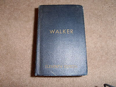 WALKER 11th Ed. 1952 2nd print THE BUILDING ESTIMATOR'S REFERENCE BOOK