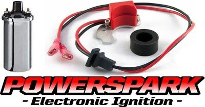 Saab Monte Carlo V4 Electronic Ignition Kit & Chrome Coil