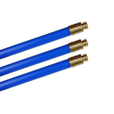 "Three Bailey Brothers 1600 Blue Rods 3/4"" x 3ft for our Chimney and Drain Sets"