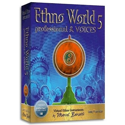 BEST SERVICE ETHNO World Vol  5 - Ethnic/World Instrument Library - BRAND  NEW!!!
