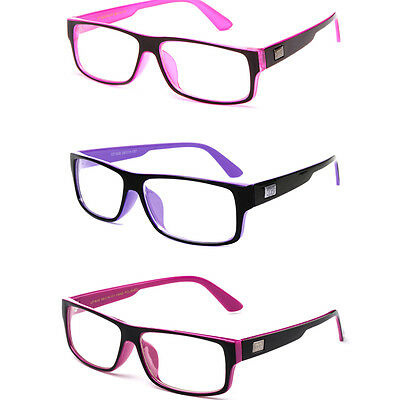 Classic Clear Lens Fashion Glasses Designer Rectangular Style Frame