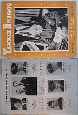 Sep. 1944~Yankee Doings Magazine~Eisenhower