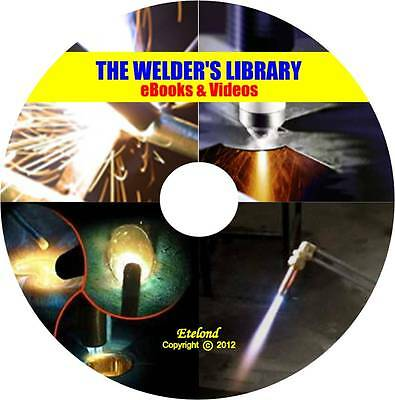 WELDING Manuals Course Stick MIG TIG Oxy Acetylene Plasma Cutting Underwater CD