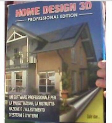 PUNCH HOME DESIGN 3D PROFESSIONAL EDITION nuovo