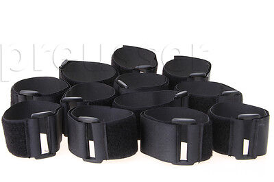 12 Velcro Straps for Vacuum & Solution Hose Assemblies Carpet Cleaning Extractor