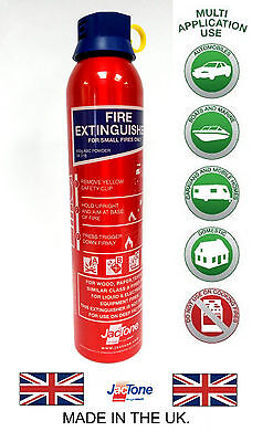 Fire Extinguisher 600G ABC Ideal for Caravan,Home, Office, Car, Taxi