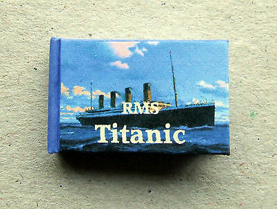 Dollshouse Miniature Book - RMS Titanic