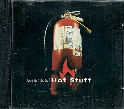 Cd Compil Promo--Hot Stuff / Live & Inedits--Blur/Radiohead/Supergrass/Everclear