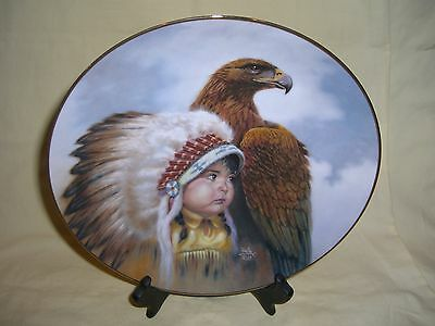 Gregory Perillo Protector of The Plains Artaffects Proud Young Spirits Plate #d