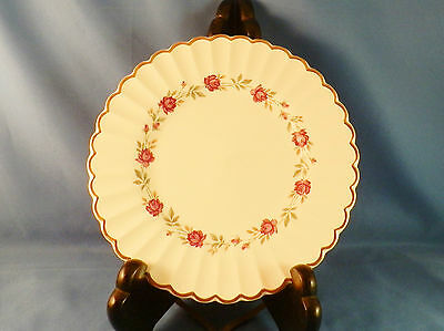 VINTAGE J & G MEAKIN CLASSIC IRONSTONE ROSE MARIE PATTERN, BREAD OR SALAD PLATE