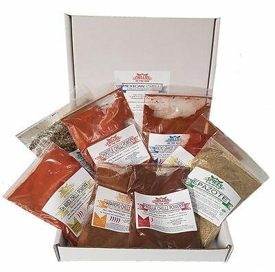 Mexican Chilli Powder Pack - CHILLIESontheWEB
