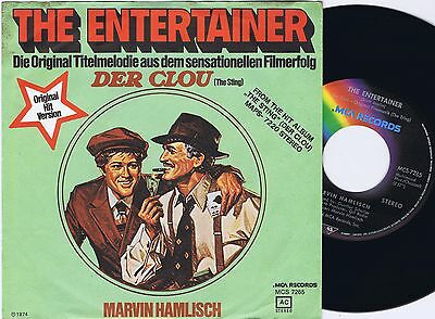 MARVIN HAMLISCH The Entertainer German 45PS 1974 THE STING