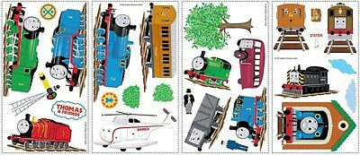 New THOMAS THE TANK ENGINE WALL DECALS Train Stickers Boys Bedroom Decorations