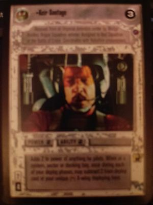 Star Wars CCG Death Star II You Must Confront Vader NrMint-Mint SWCCG